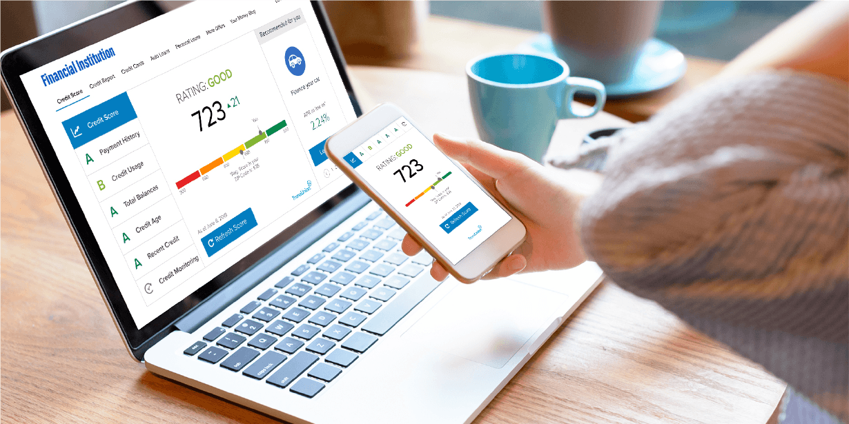 New! Check Your Credit Score within Online Banking