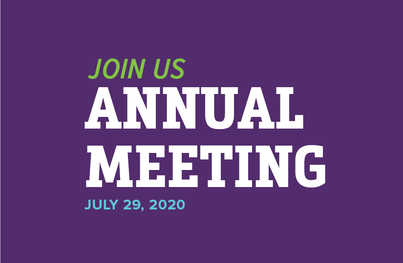 Join Us | AnnualMeeting | July 29, 2020